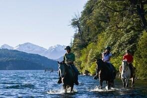 Horseback Riding Full Day with asado - Cerro Campanario & Lago Moreno, Arge...