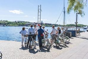 Stockholm's Urban Treasures Private Bike Tour