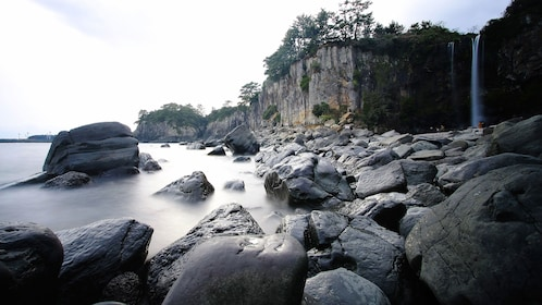 Rocky shores and cliffs of Jeju