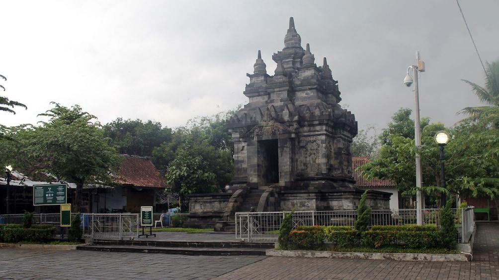 Stone temple in Yogyakarta