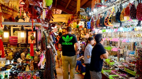 People shopping at the Ben Thanh Market in Ho Chi Minh City