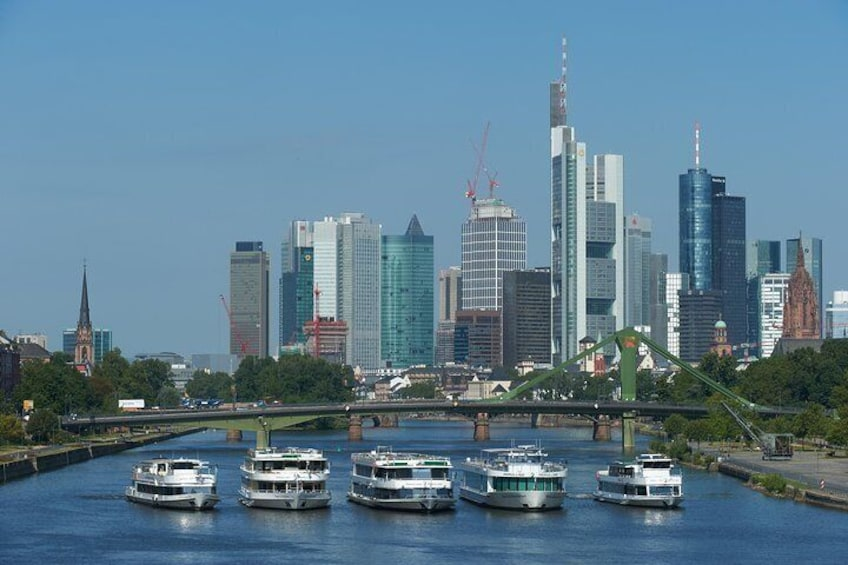 Frankfurt Main River Sightseeing Cruise