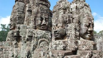 Half-Day Angkor Thom City & Ta Prohm Temple Tour