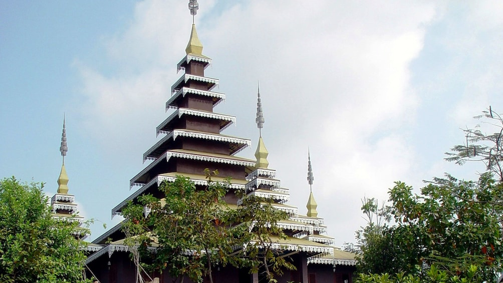 Pagoda style building in Siem Reap