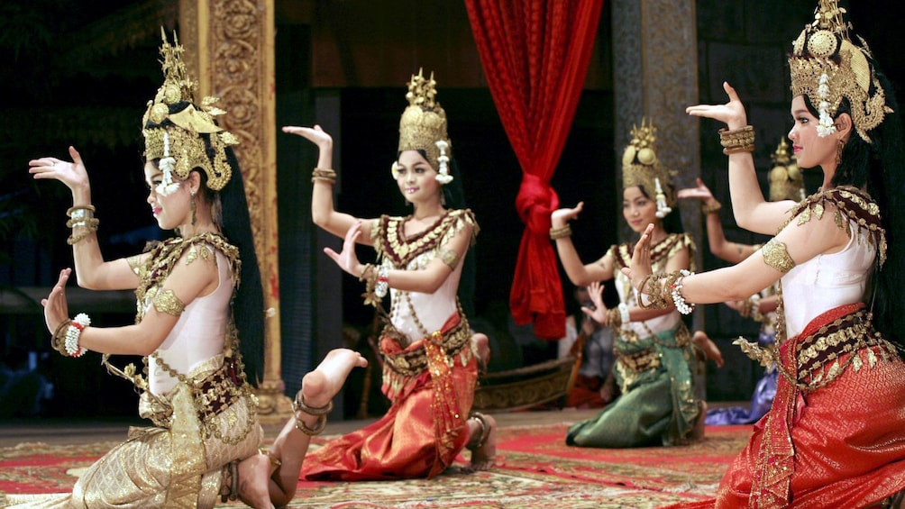 Show item 5 of 9. Dancers in siem reap