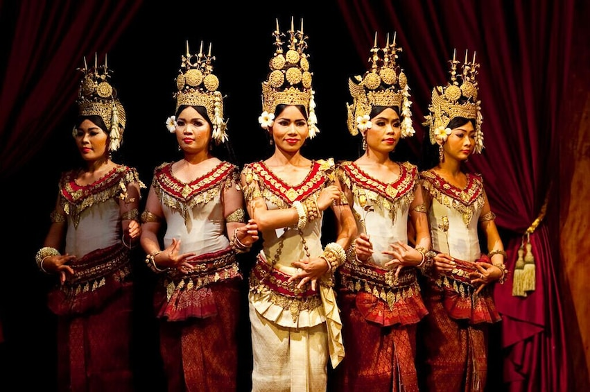 Show item 4 of 9. Apsara Dance Performance with Buffet Dinner at Amazon