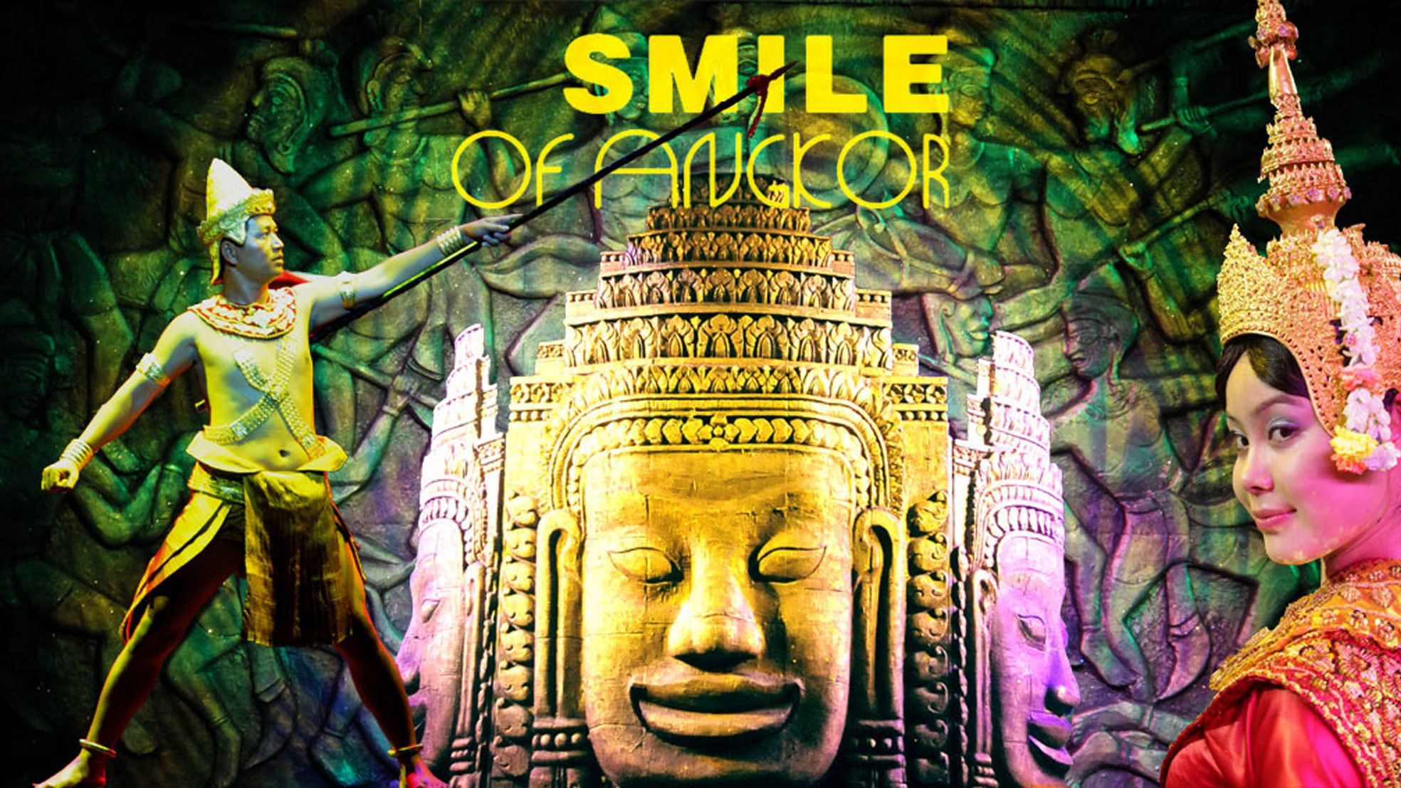 Smile of Angkor Show with Buffet Dinner at Smile Angkor Grand Theater
