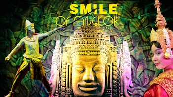 Smile of Angkor Show with Buffet Dinner at Smile Angkor Grand Theatre