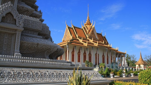 Side view of the Royal Palace in Phnom Penh