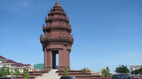 The Independence Monument in Phnom Penh
