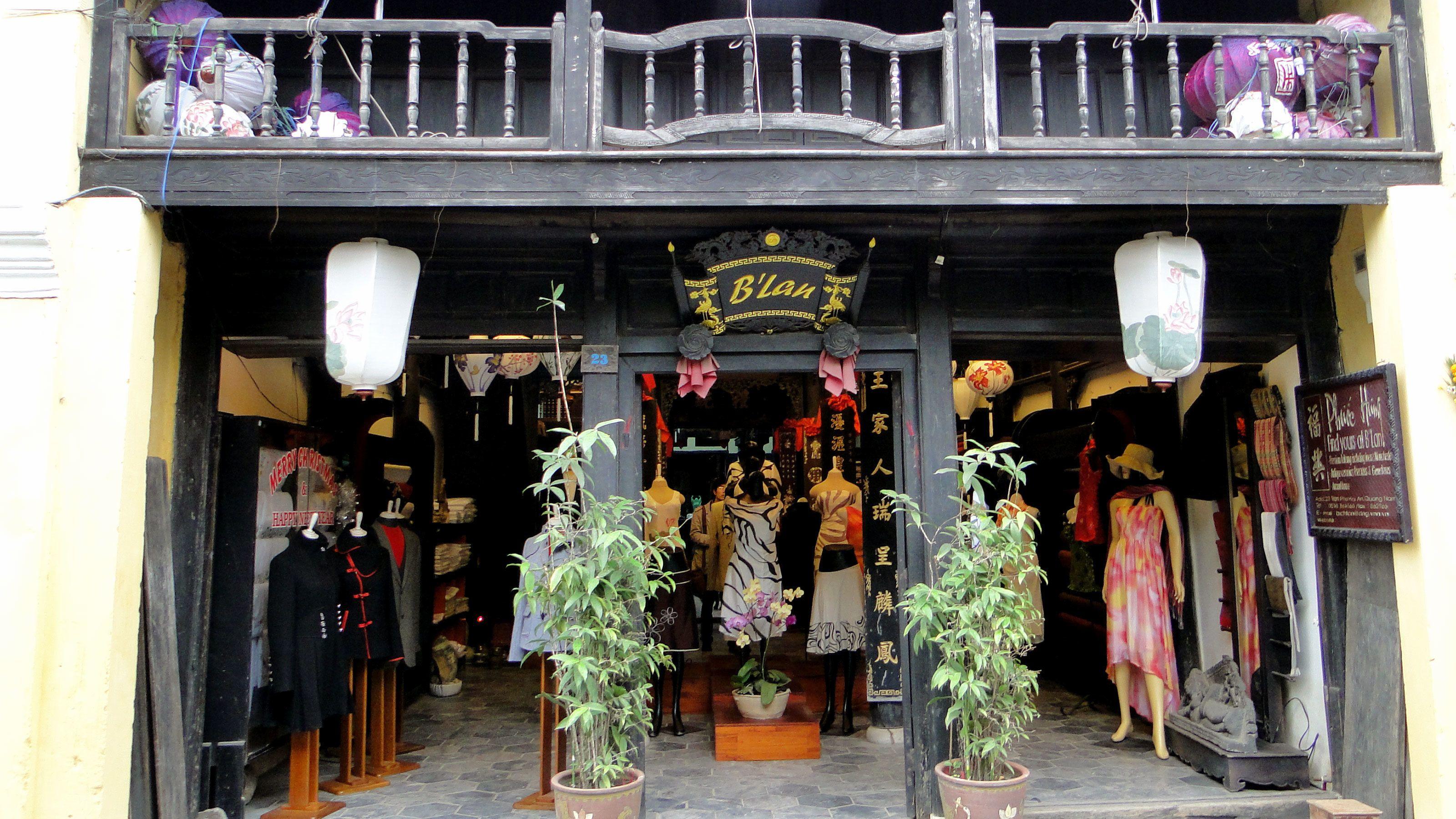 B'lan shop in Hoi An Vietnam