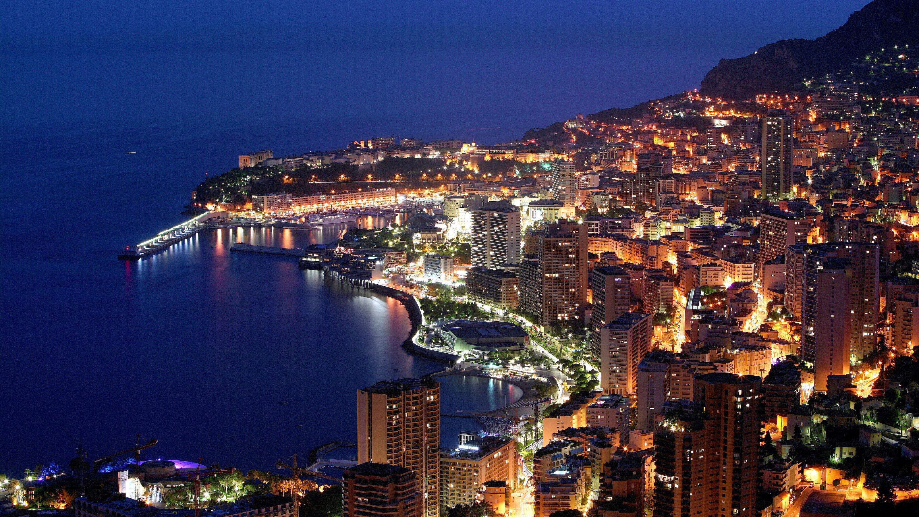 Visite nocturne de Monaco au départ de Cannes