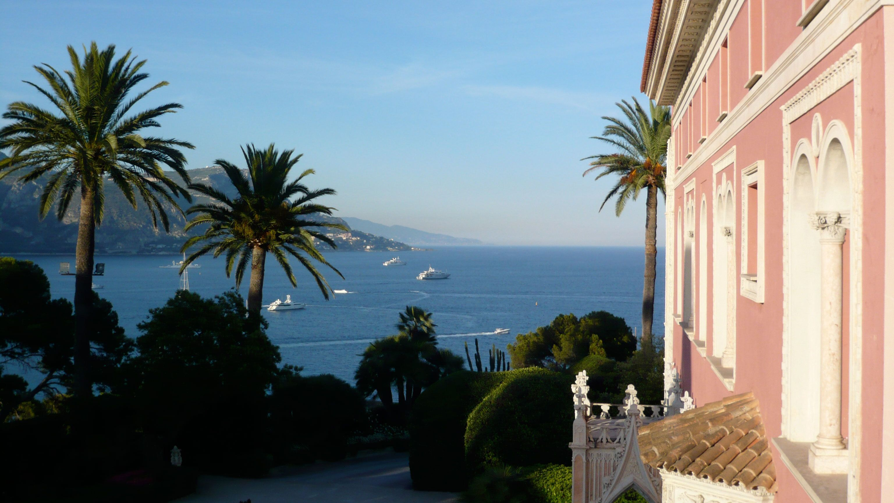 Watching boats in the distance in Cannes