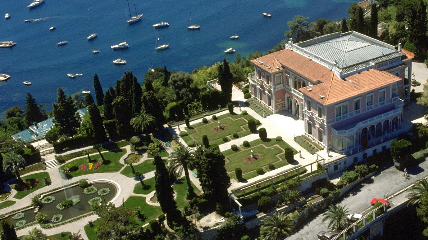 Cured gardens at the Villa Ephrussi de Rothschild in Cannes
