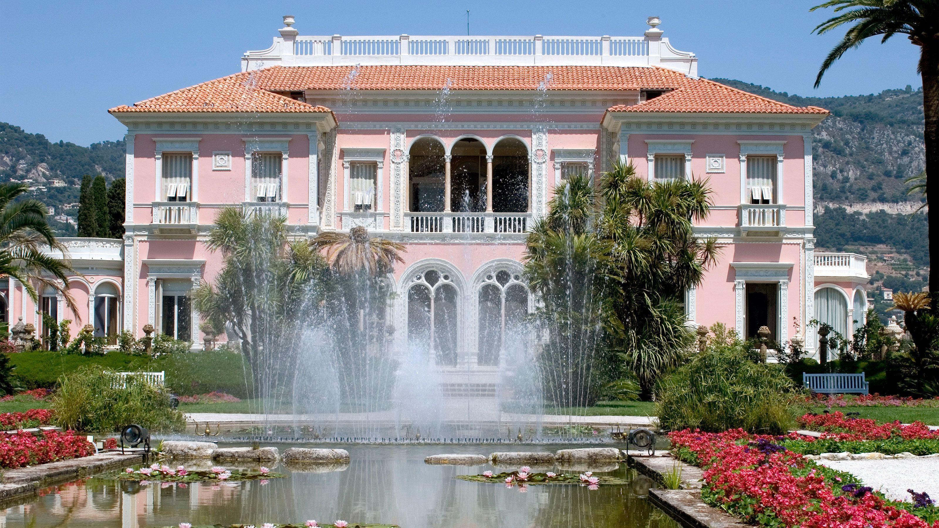Villa Ephrussi de Rothschild in Cannes