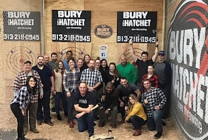 2-Hour Axe throwing session for 10
