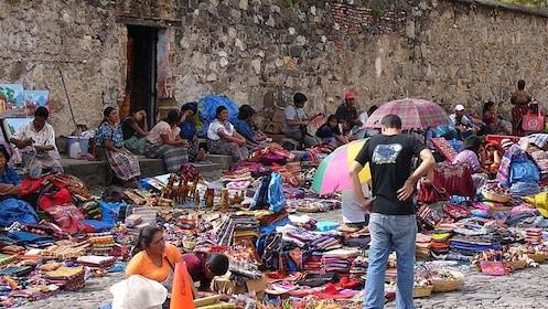 Street vendors in Guatemala