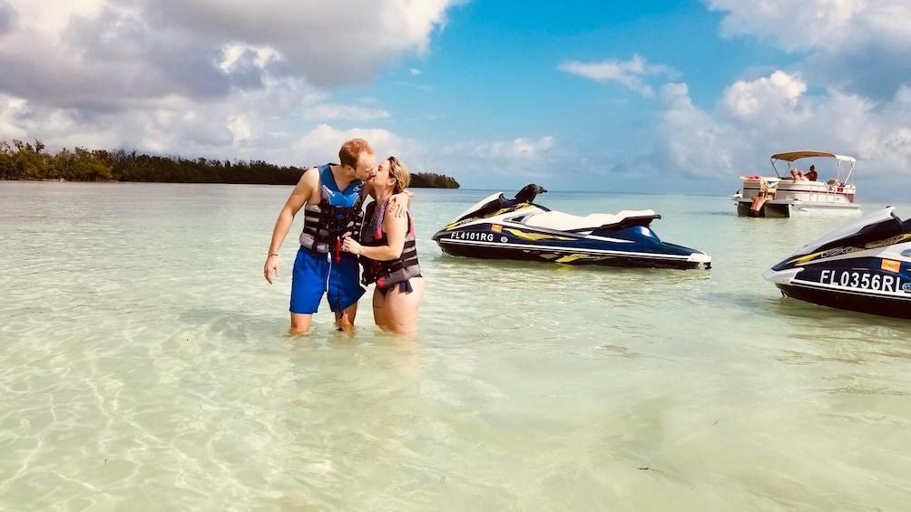 Show item 5 of 4. Crab Island 10 Passenger Pontoon Boat Rentals
