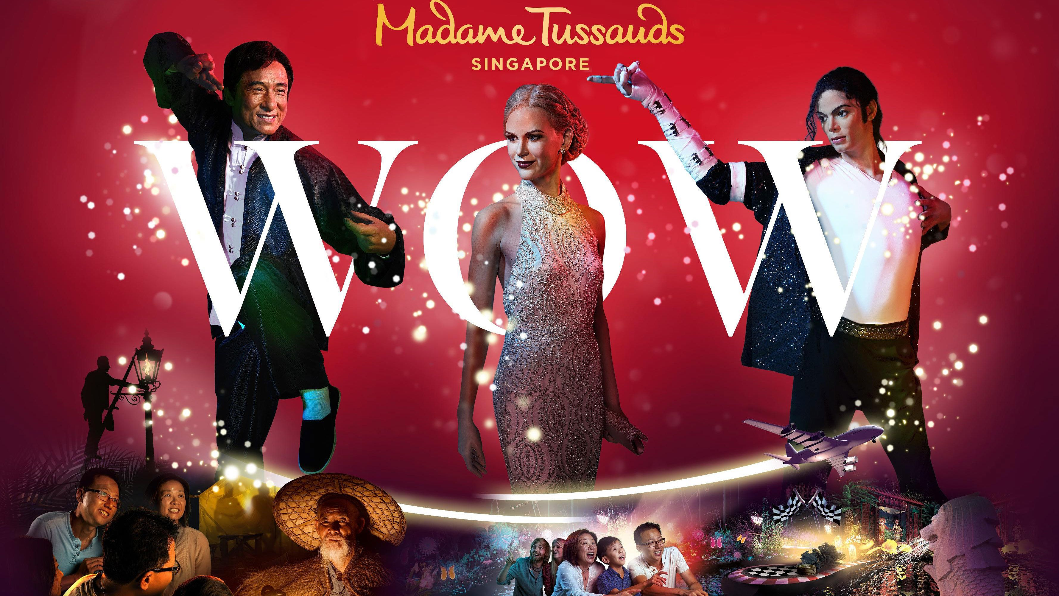 Fast-Track Madame Tussauds & Images of Singapore LIVE Ticket