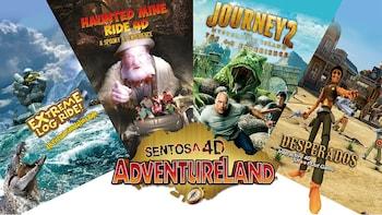 Sentosa 4D AdventureLand - Combo «4-en-1» (administration unique)