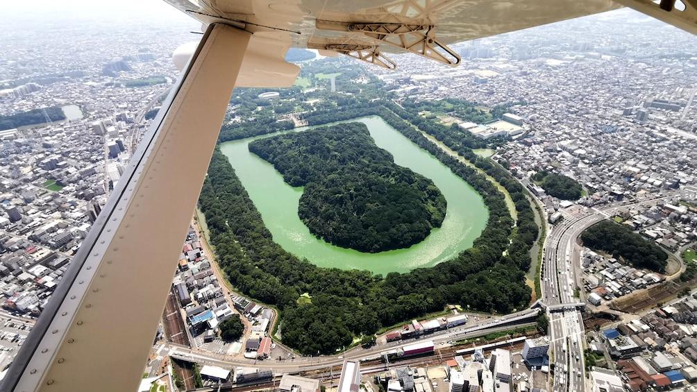 Show item 3 of 3. World Heritage Osaka Kofun Flight Tour