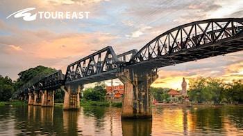 Private Full Day River Kwai Bridge with Train Ride Tour