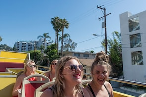 Los Angeles: Hollywood Sign Tour + Hop-On Hop-Off Bus