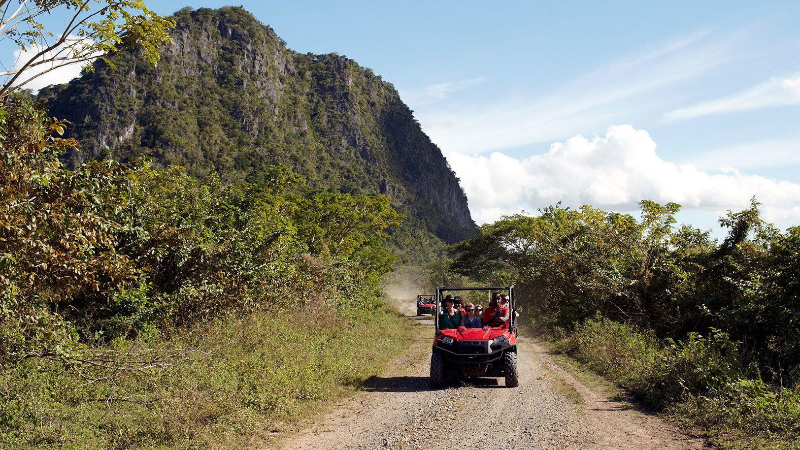 ATV trail in Fiji
