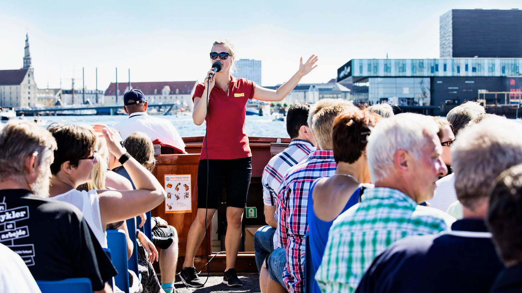 Harbour & Canal Cruise with optional Tivoli Gardens tickets
