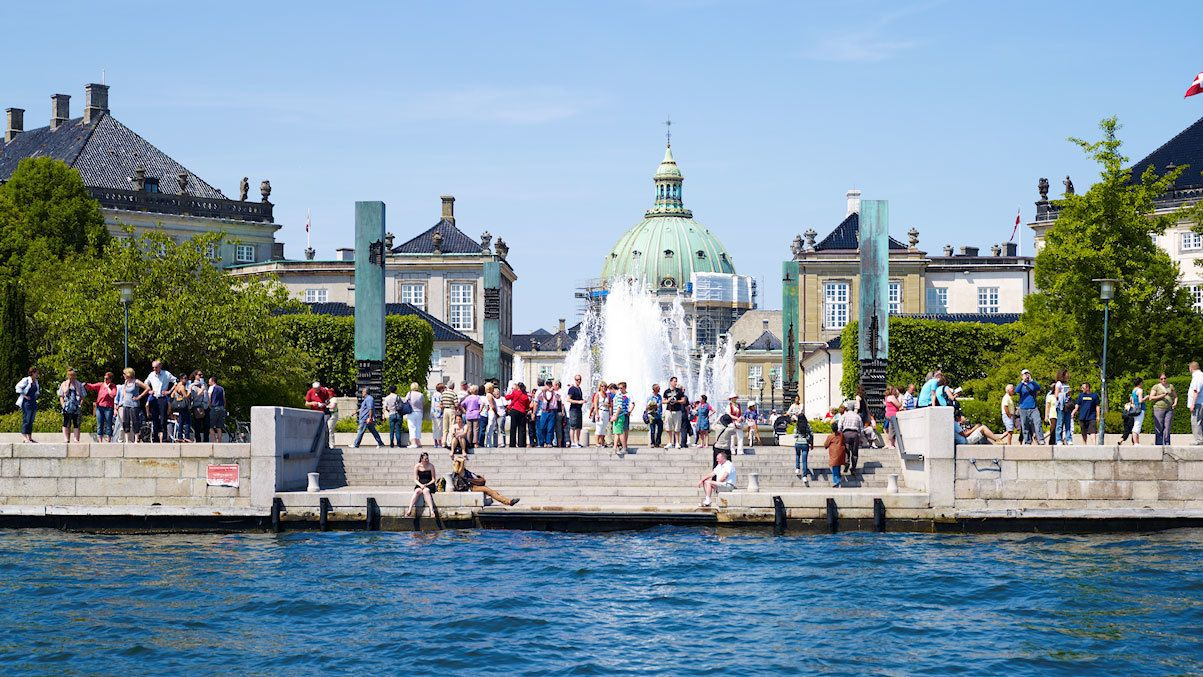 Leisure time by the waters in Copenhagen