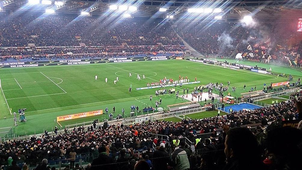 Tickets Fur Fussballspiele Von As Rom Oder Lazio Rom