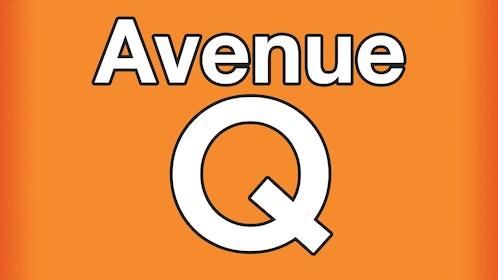 Avenue Q off broadway title card