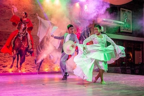 Dinner, dance show & Peruvian Paso horse including Pick-up