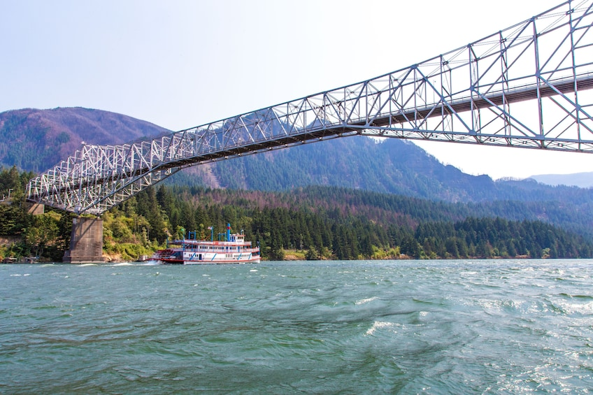 Show item 2 of 6. 2-Hour Columbia River Gorge Dinner Cruise