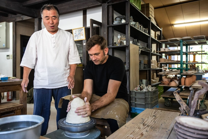 Show item 1 of 4. 2-Day Arita Ware Tour with Kaiseki Lunch & Private Lesson
