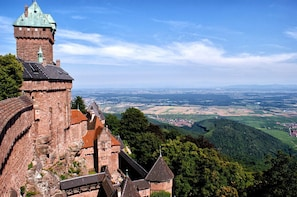 Route des vins Colmar - Haut Koenig - Riquewihr- Kaysersberg