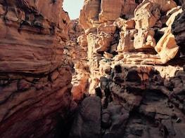 Jeep Safari Tour to Colored Canyon & Blue Hole ;Private tour