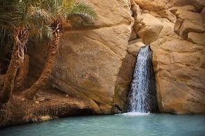Full-Day Tour from Tozeur: Tamerza, Chebika, Mides Canyons and Star Wars