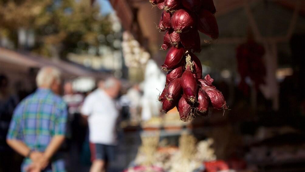 Charger l'élément 2 sur 5. Visiting a street market in Cannes