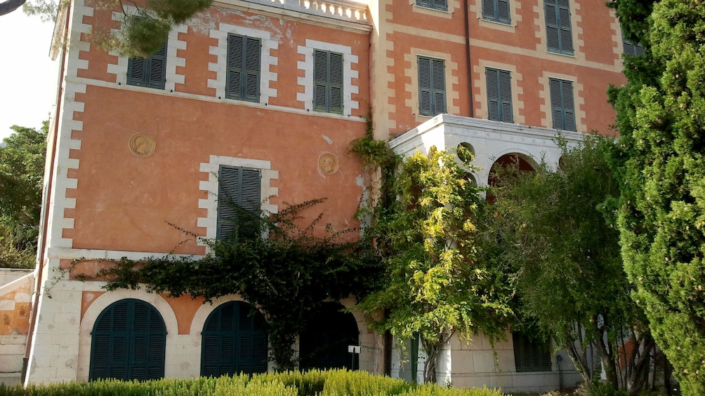 Show item 3 of 5. Old masonry building in Cannes