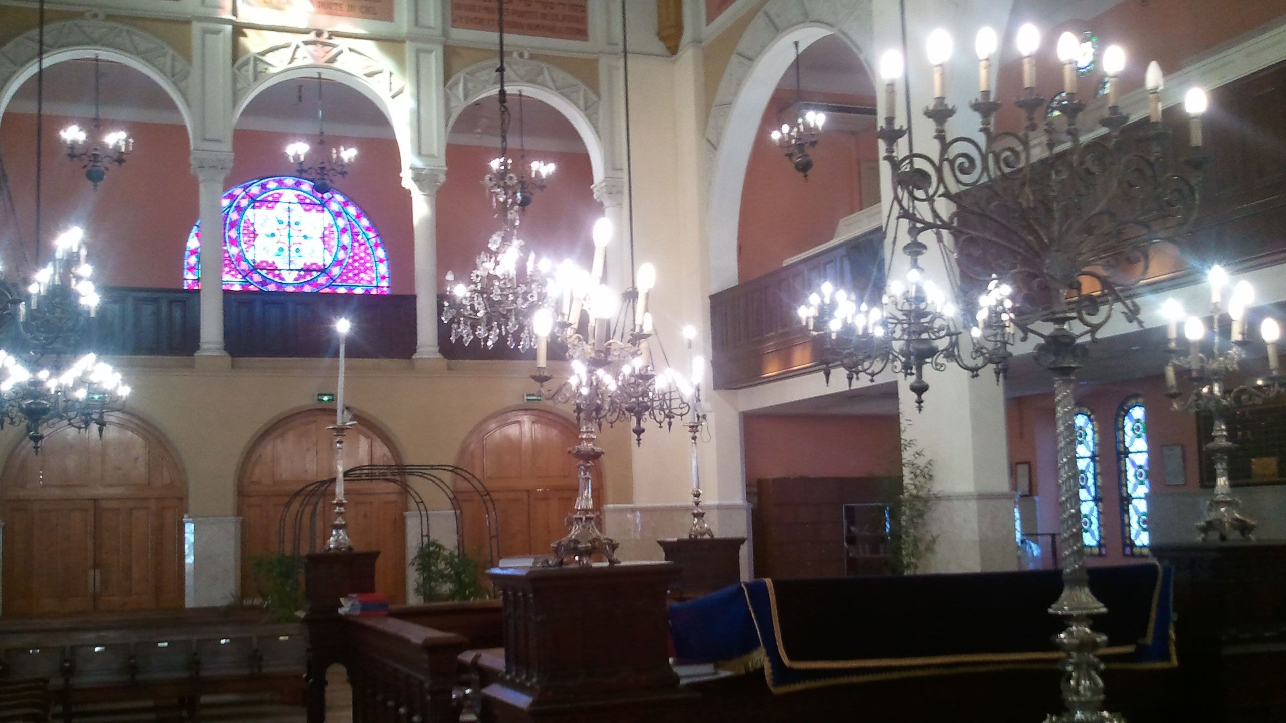 Jewish worship space in Cannes