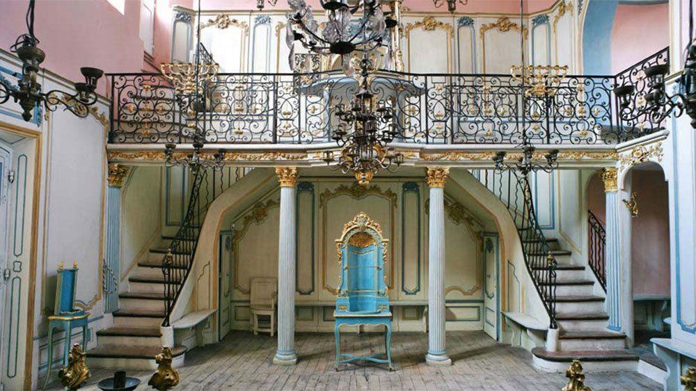 Old preserved Jewish establishment in Cannes