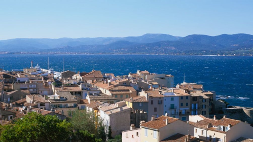 The townscape of Saint Tropez in Cannes