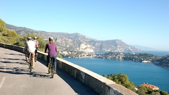 Electric Bike Tour of Nice, Fort du Mont Alban & Villefranche