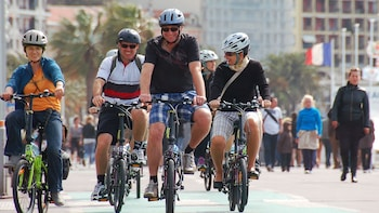 Nice City Cycle Tour (Promenade des Anglais, Castle Hill )