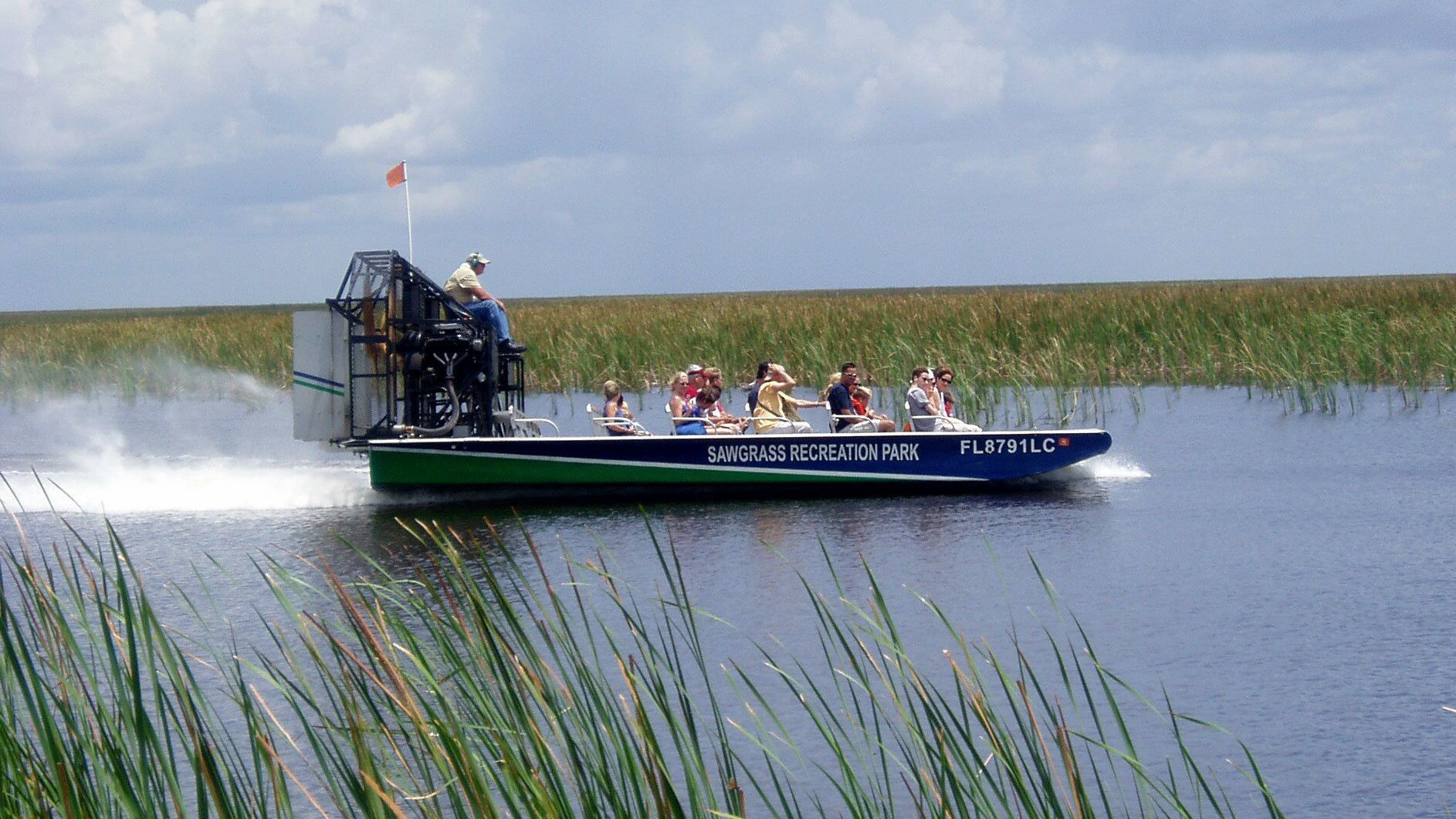 Everglades Airboat Ride with Transport