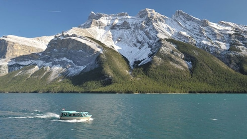 Cruise along Lake Louise to experience the amazing beauty of Banff