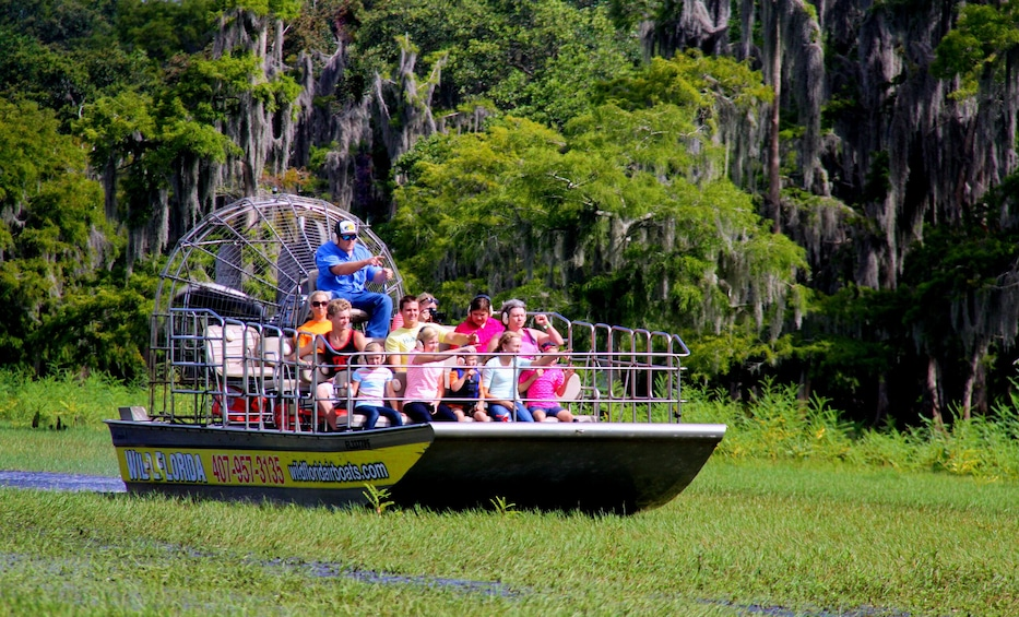 Show item 3 of 8. Airboat Ride with Transportation