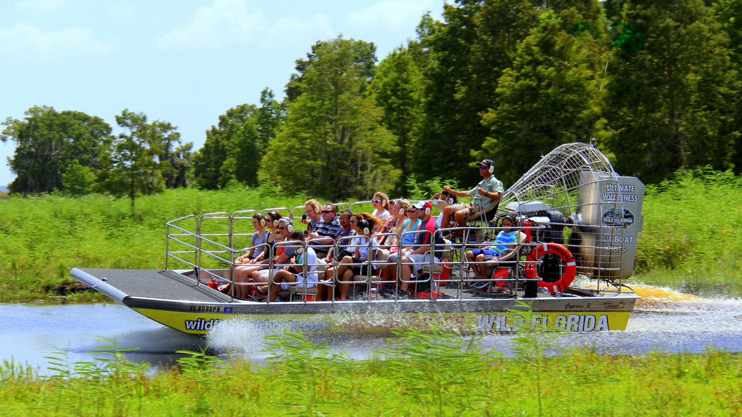 Airboat Ride with Transportation