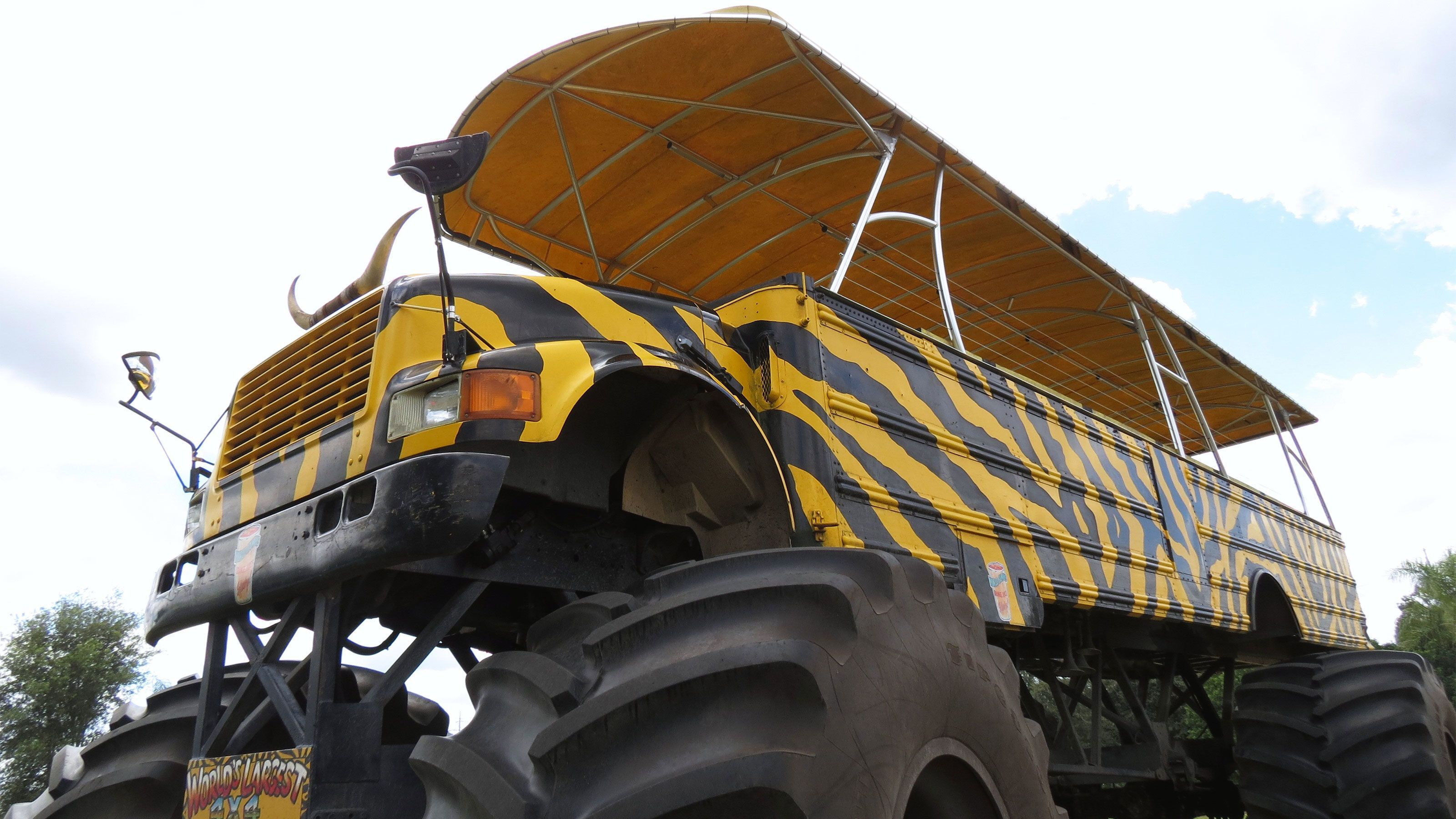 Airboat & Monster Truck Tour with Transport